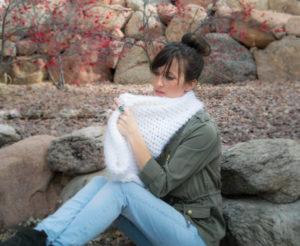Powdered Sugar Crochet Cowl Pattern
