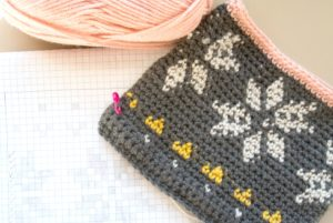 Tapestry Crochets Bag and Graph