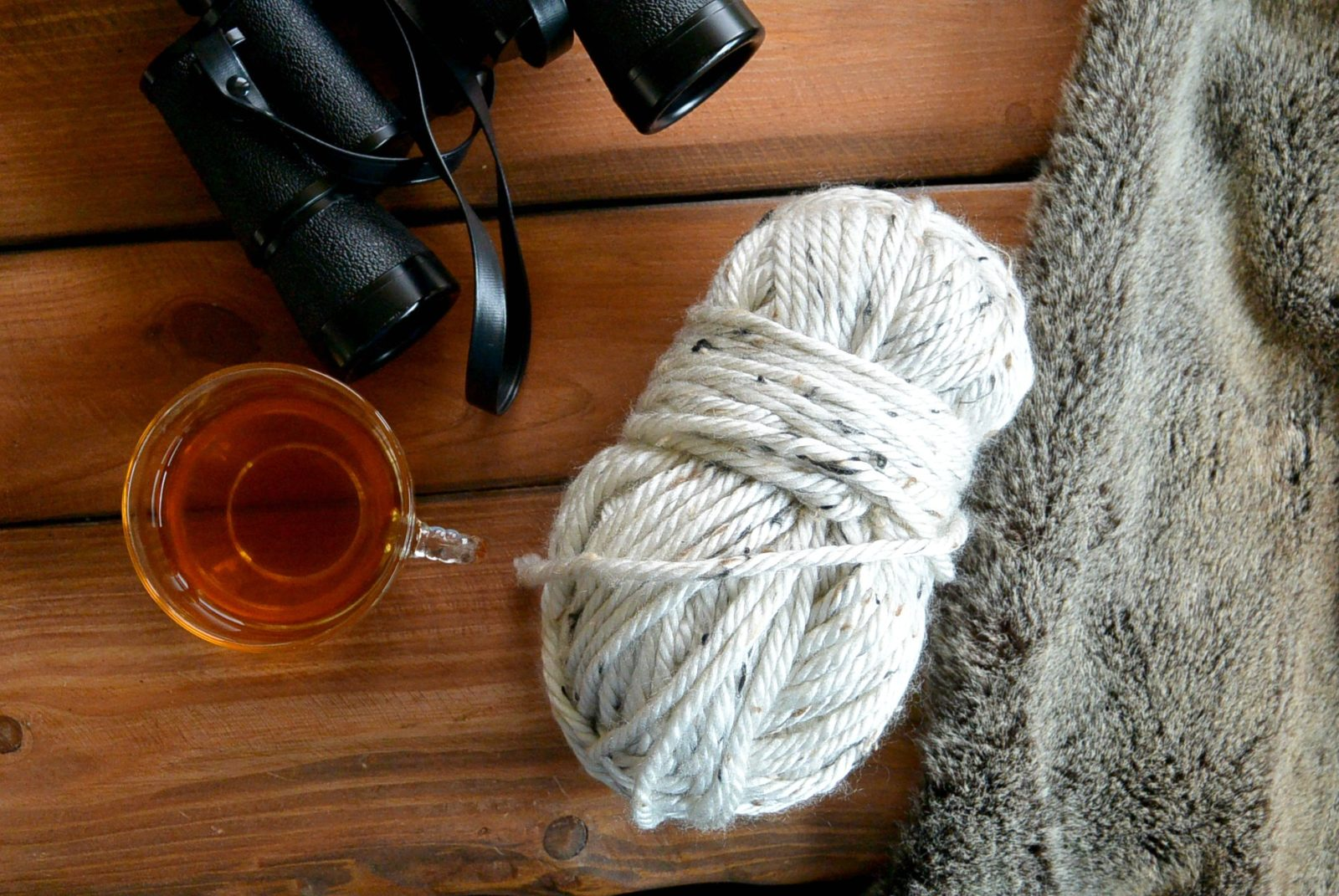 Yarn Break – A Wee Bit About Me, Being Thankful and the Bloggy Stuff