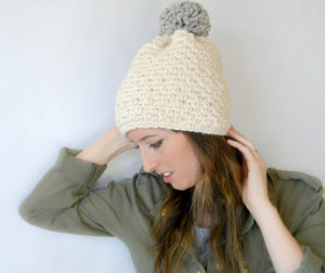 Quick Chunky Knit Hat Pattern – Mama In A Stitch ef0fa8f232d