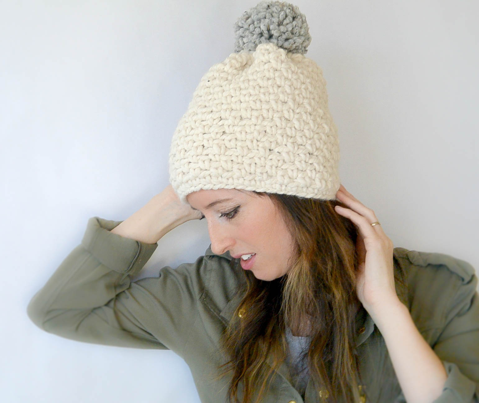 Easy Chunky Crochet Hat Pattern : Free Crochet Patterns ? Mama In A Stitch