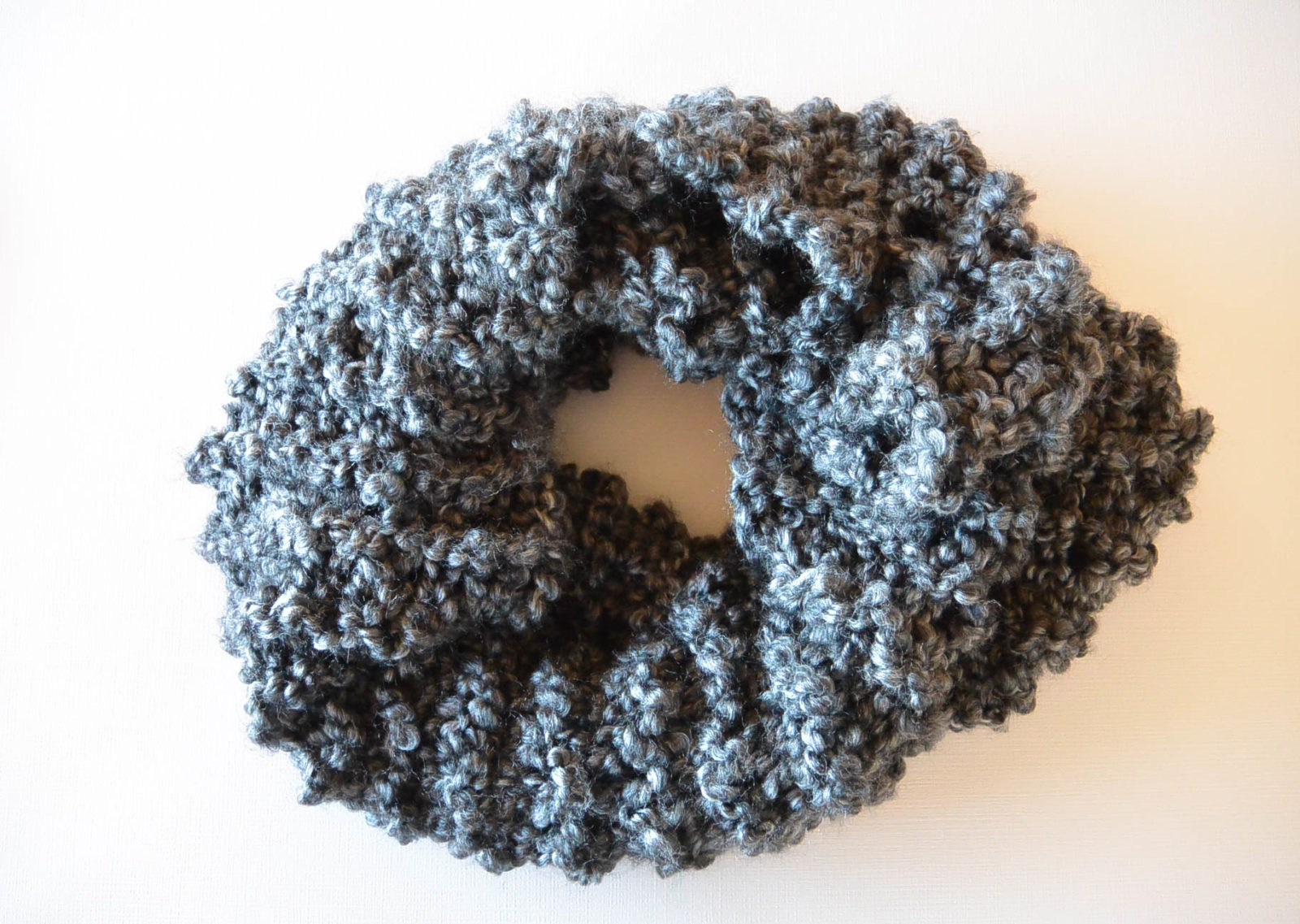 Fast Free Beginner Easy Knit Cowl Pattern – Mama In A Stitch
