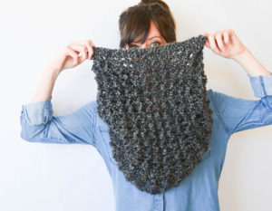 Fast Free Modern Beginner Knit Pattern