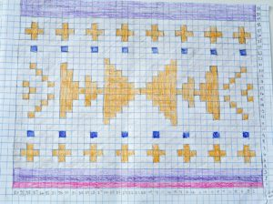 Prismacolor and Crochet Tapestry Pattern