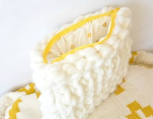 Big Knit Easy Bag Pattern