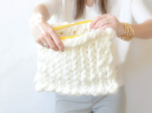 Big Knitted Easy Bag Pattern