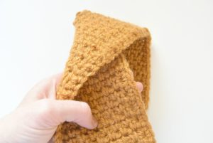 Easy Twist Band Crochet Free Pattern