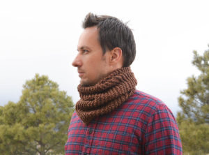 Mens Knit Cowl Easy Free Pattern