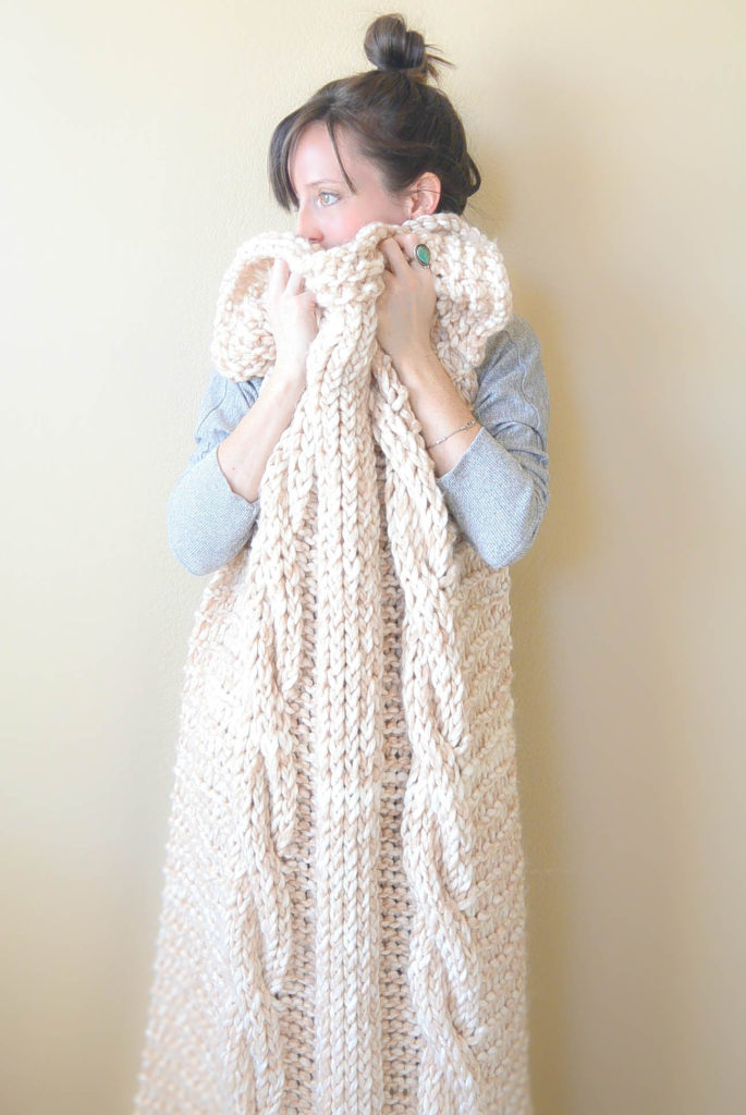 Cable Knit Afghan Pattern