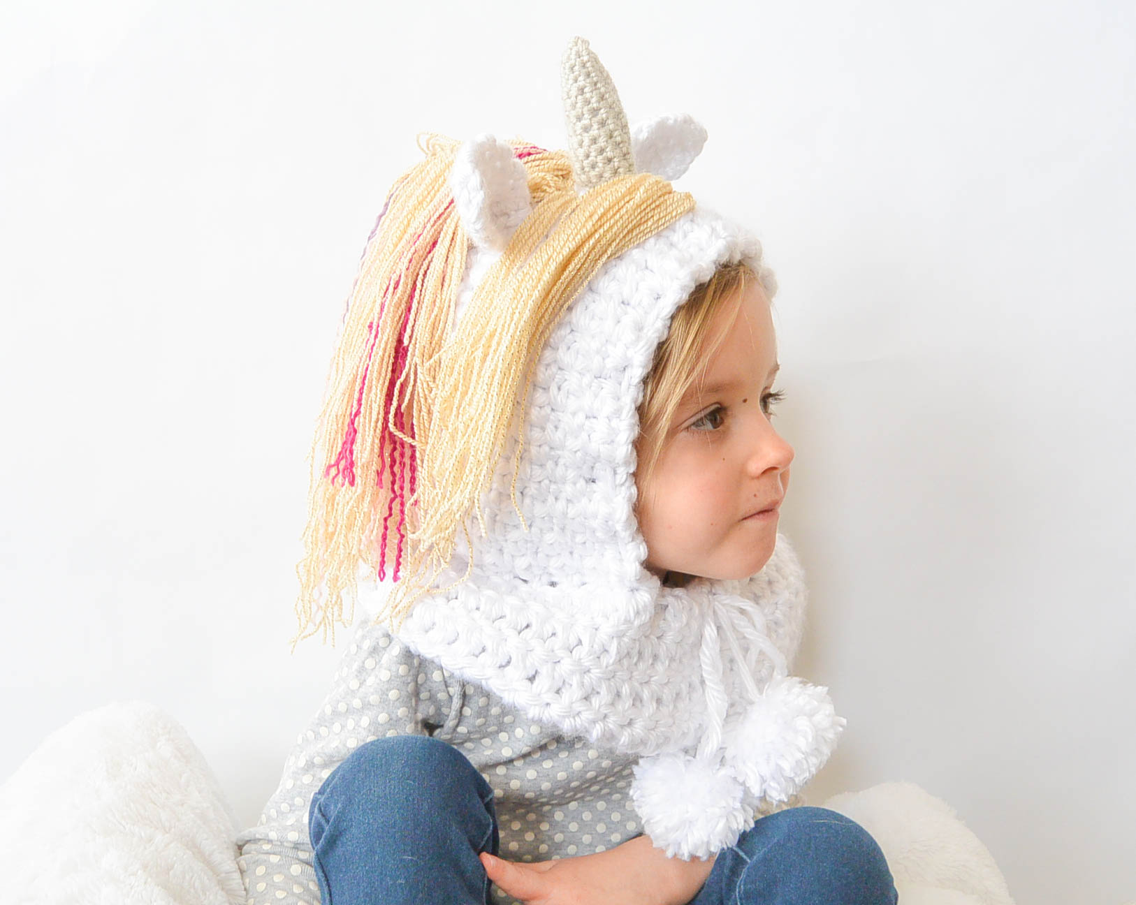 Toddler Magical Unicorn Crochet Hood Pattern – Mama In A Stitch