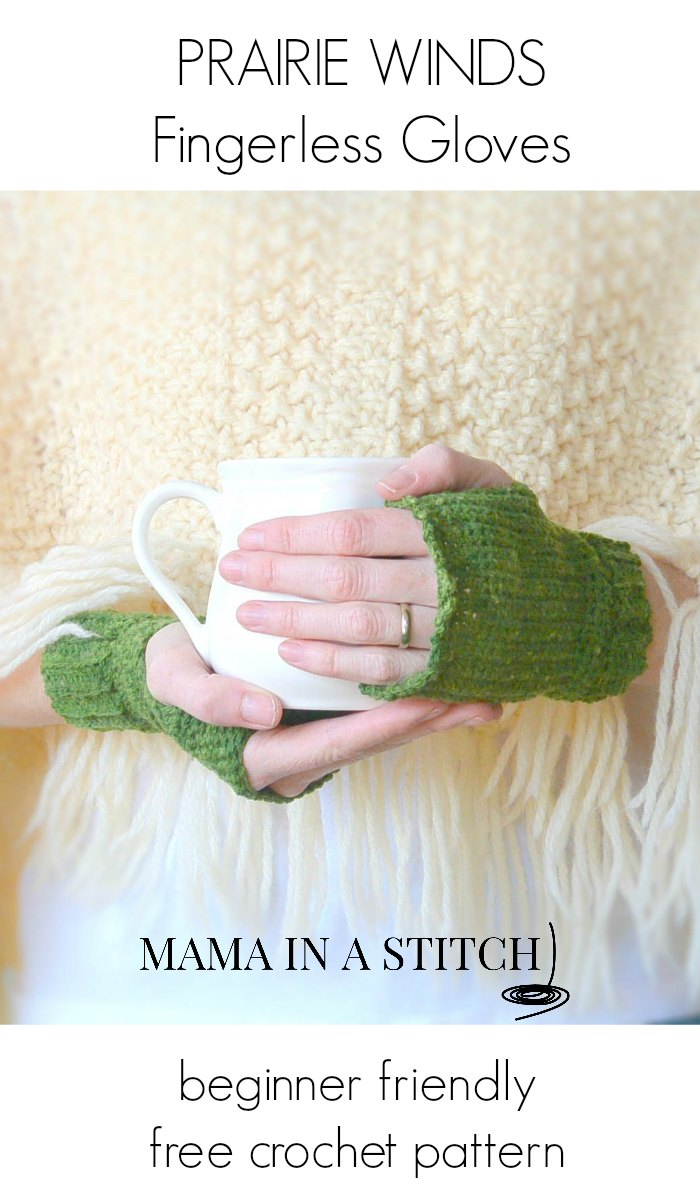Free Crochet Pattern Fingerless Gloves Easy