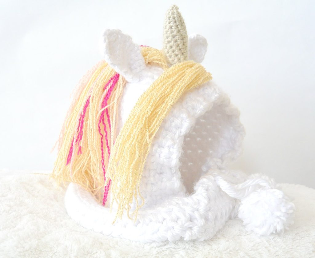 Magical Unicorn Crochet Hat