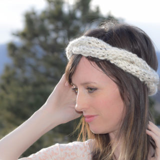 Spring Crown Knit Headband