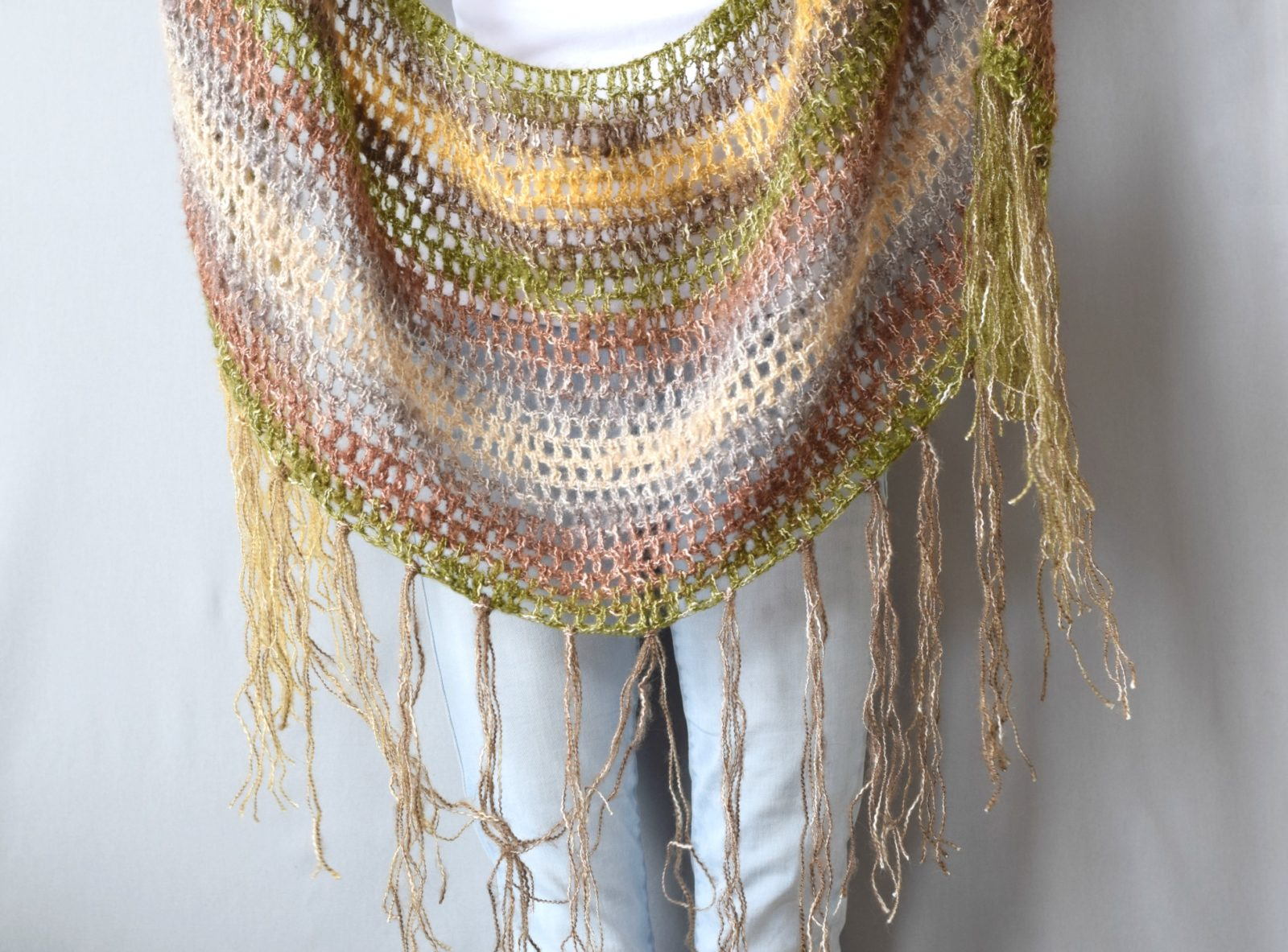 Easy Shawl In A Ball Crochet Scarf or Shawl