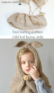 Knit Bunny Hat Pattern