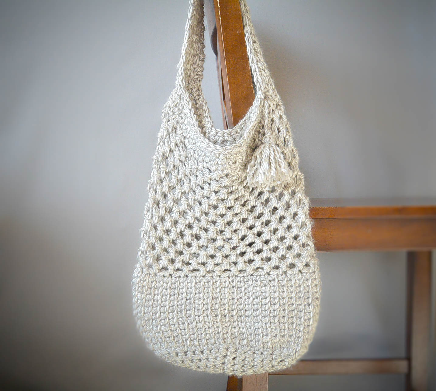 Manhattan Market Tote - Crochet Pattern – Mama In A Stitch