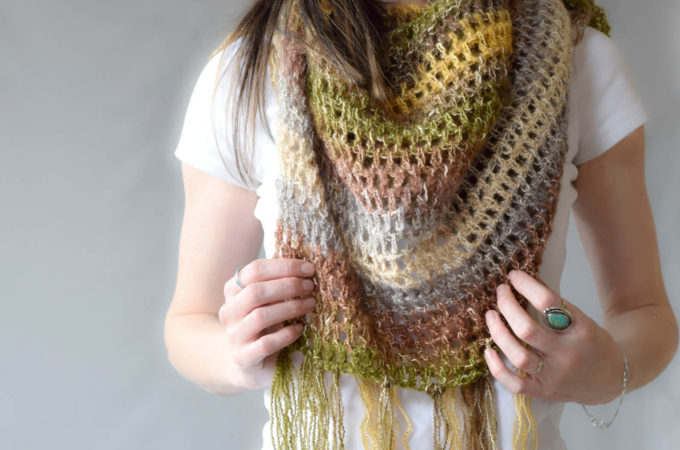 "One Skein Crochet ""Boho Shawl"" Pattern"