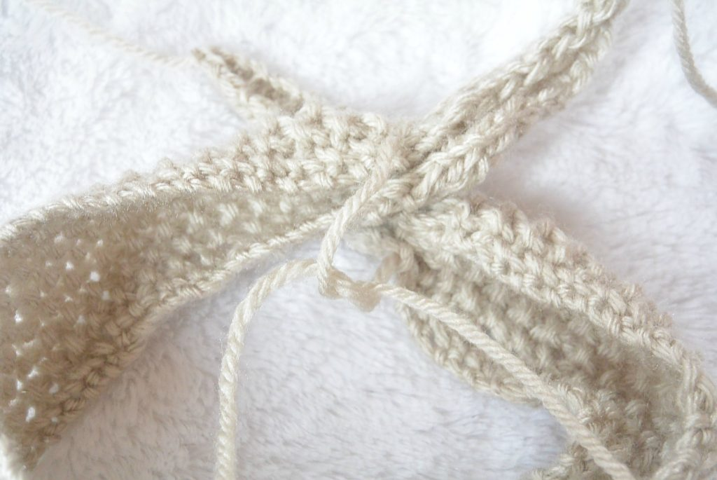 M1 By Knitting Into Stitch Below Comsar For