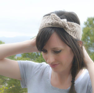 50s Crochet Headband Pattern