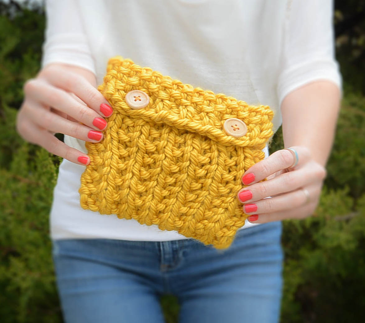 Broken Rib Knit Bag Pattern-2