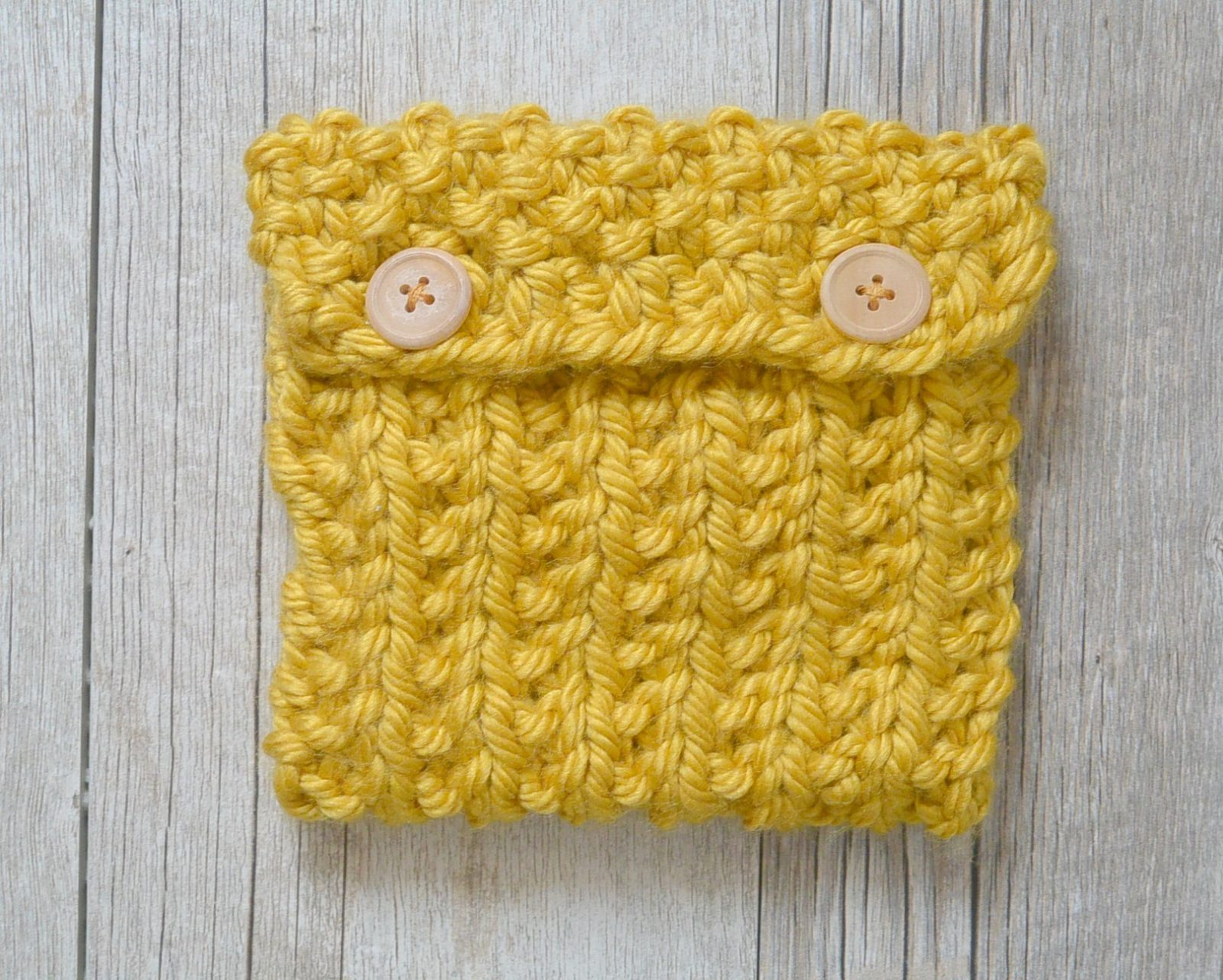 Easy Knit Pouch Pattern