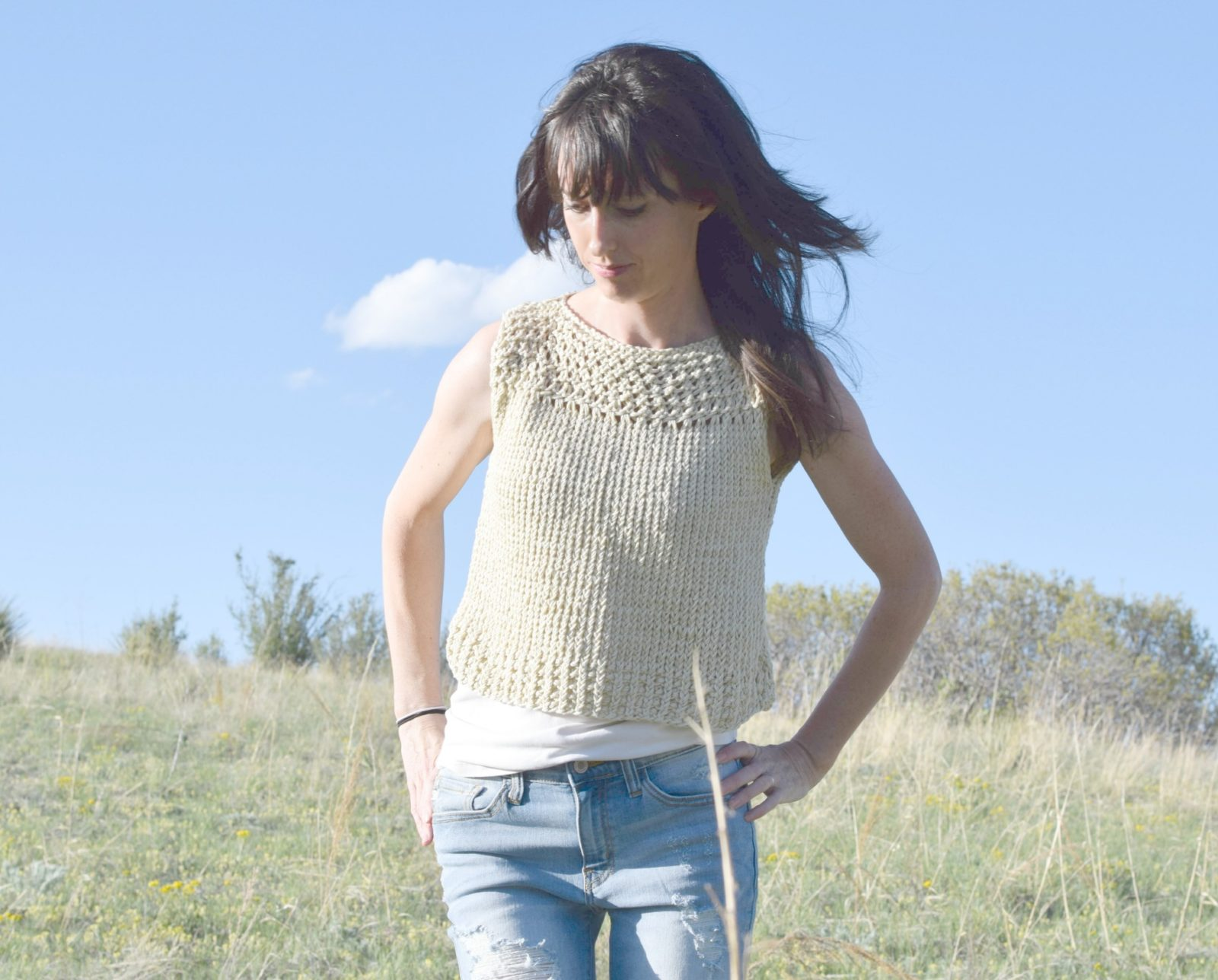 Knit Top Patterns : Summer Vacation Knit Top Pattern   Mama In A Stitch