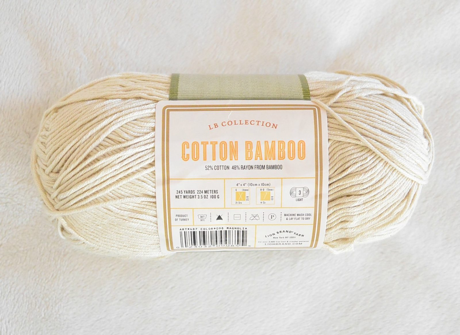 Easy Knit Top Cotton Lion Brand Yarn