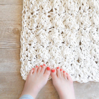 How to Crochet A Rug with Rope