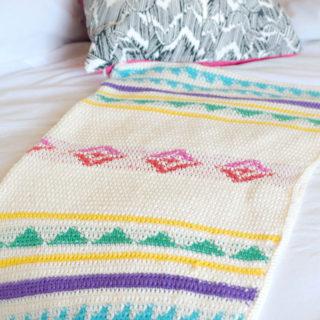 Campy Crochet Blanket Pattern Free Southwest