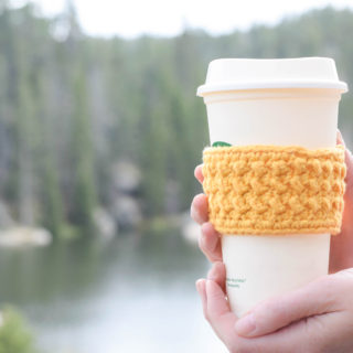 Coffee Cup Cozy Crochet Patterns
