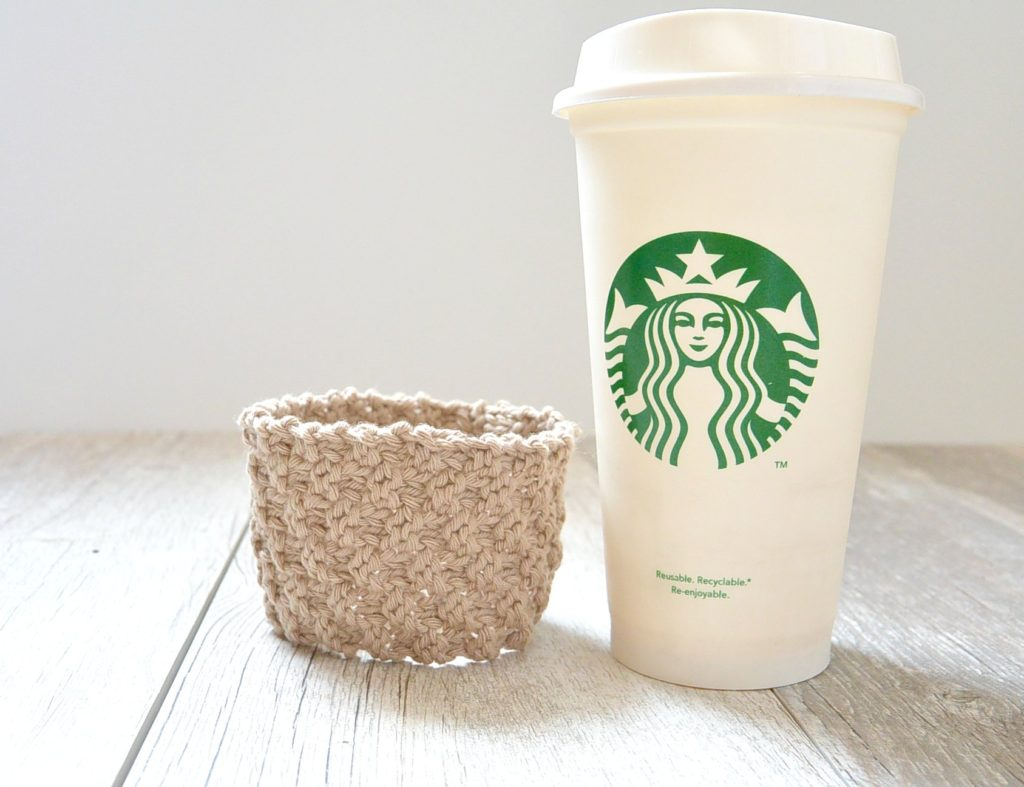 Knit Starbucks Cozy Pattern