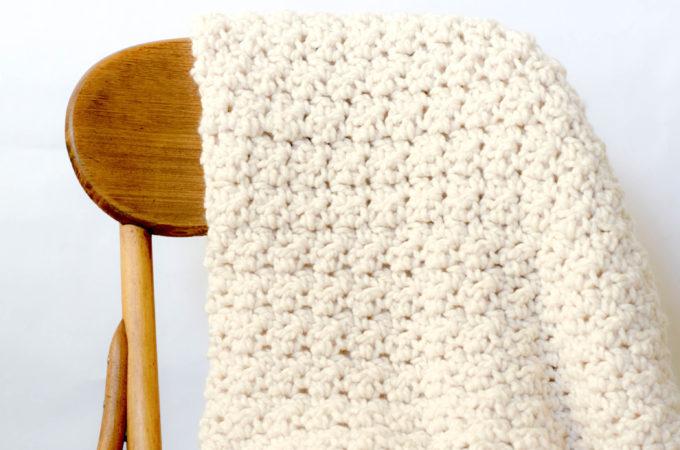 Chunky Icelandic Crochet Blanket Pattern