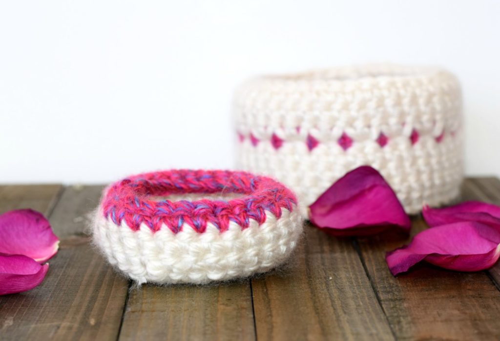 Crochet Baskets Pattern Mama In A Stitch Guest Post
