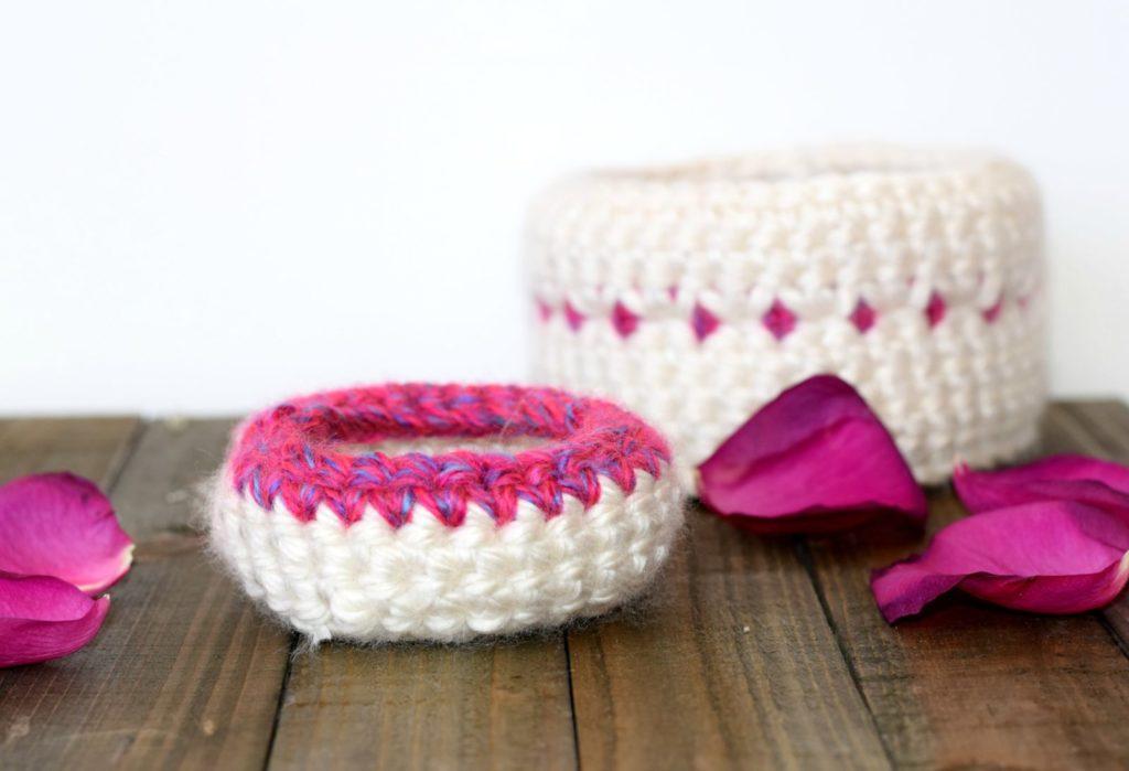 Crochet Baskets Pattern Mama In A Stitch Guest Post