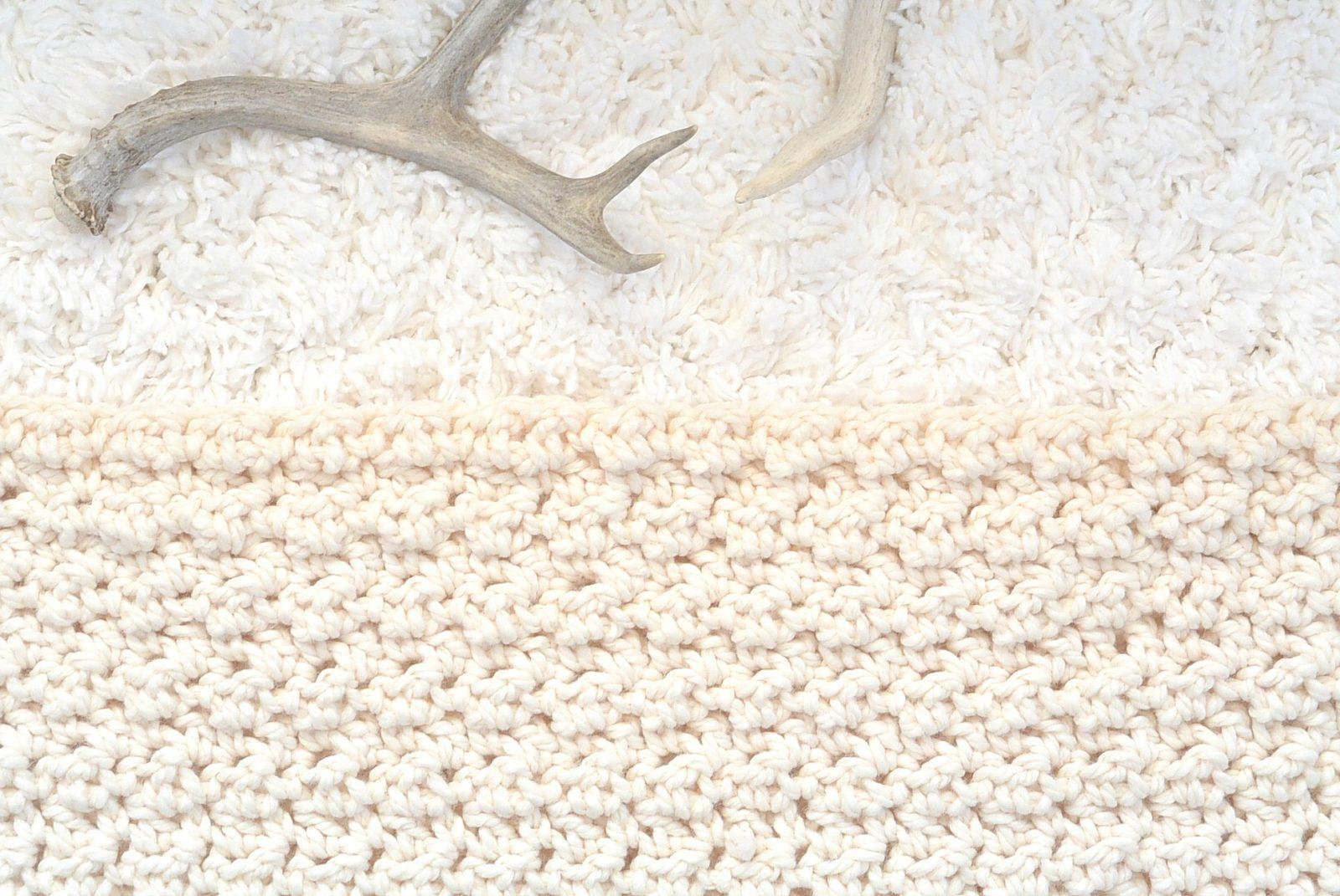 Crochet Stitches Chunky : Chunky Icelandic Crochet Blanket Pattern - Mama In A Stitch