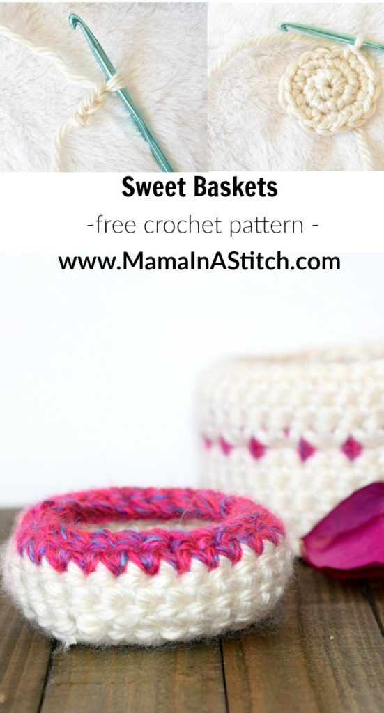 Free Crochet Pattern Baskets