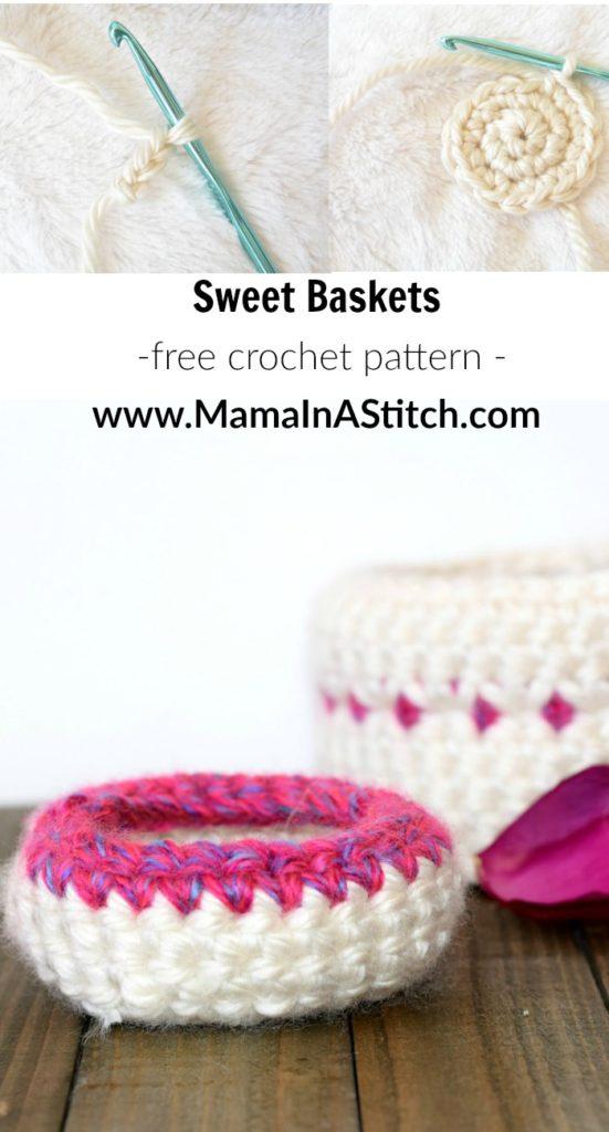 Free Crochet Pattern Baskets