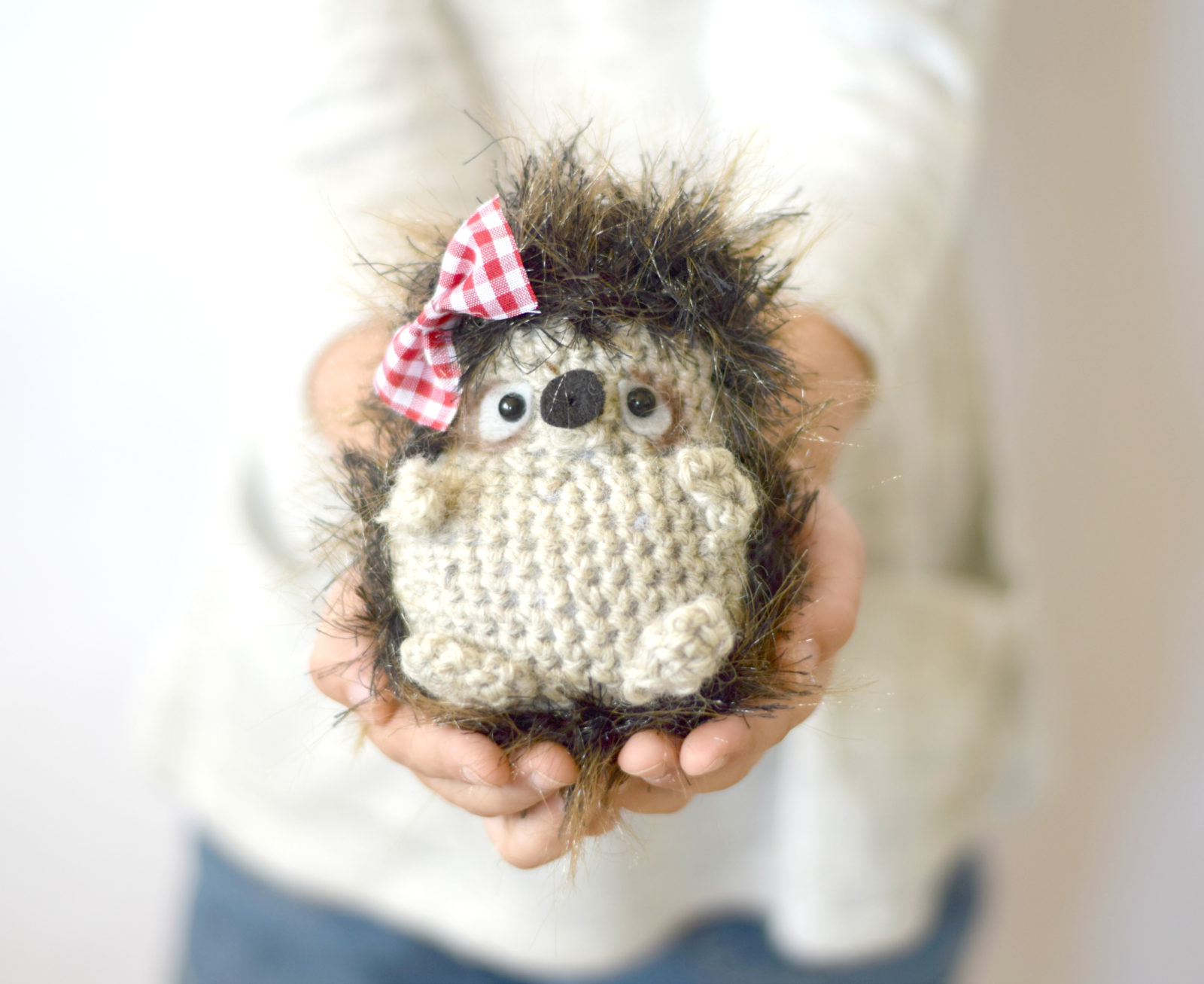 Woodland Hedgehog Amigurumi Crochet Pattern