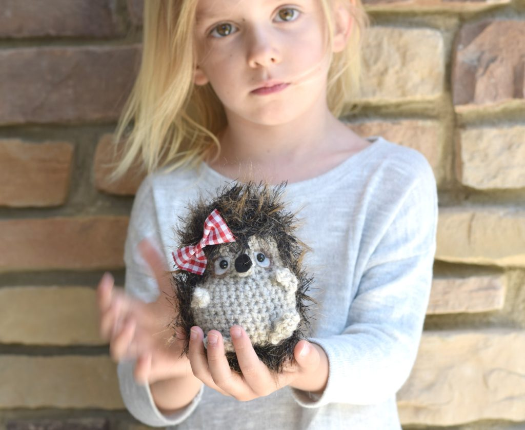 Hedgehog toy pattern