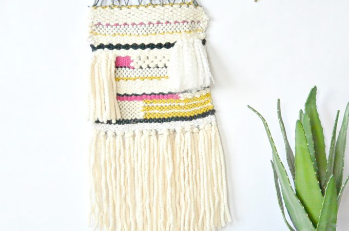 How To Wall Hanging Weaving Tutorial