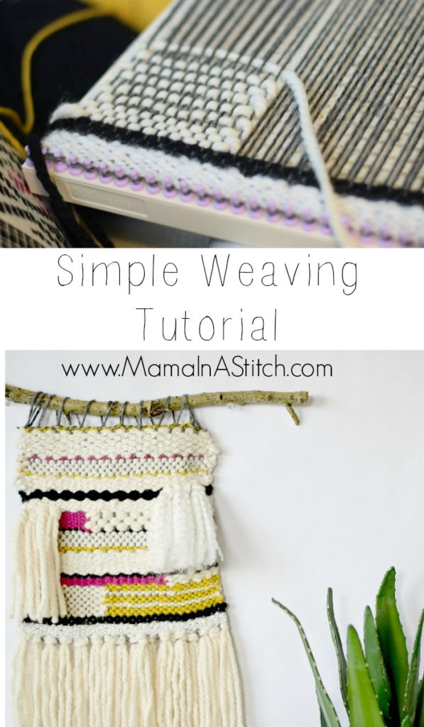 How To Weave Simple Tutorial