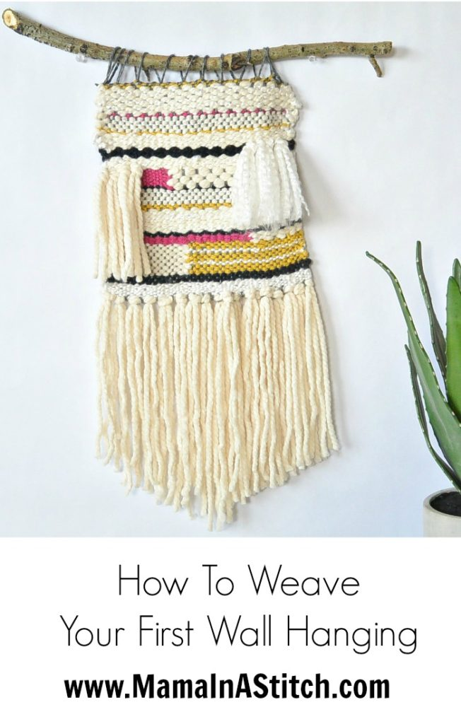 How To Weave Simple Wall Hanging Tutorial