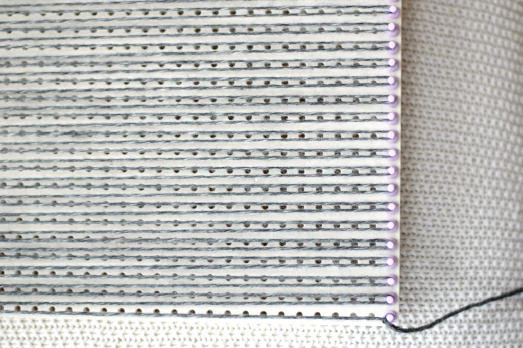 How To Weave - the weft