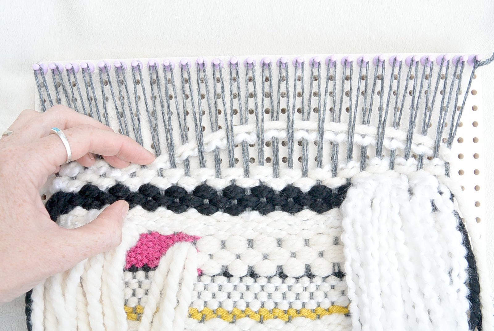 How To Weave A Wall Hanging Tutorial