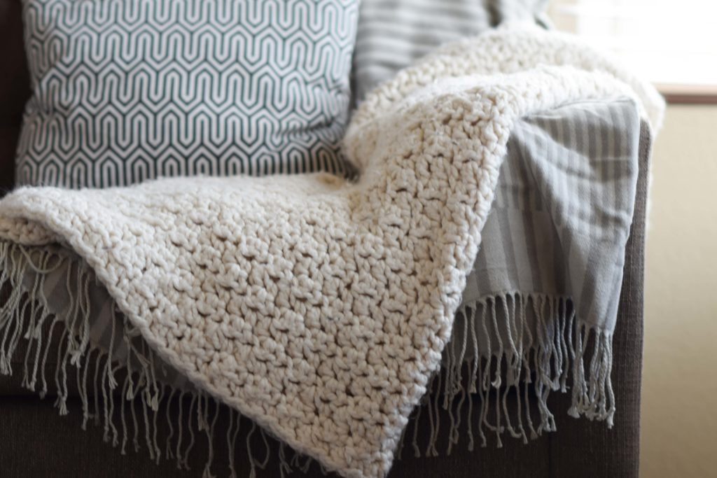 Chunky Icelandic Crochet Blanket Pattern Mama In A Stitch