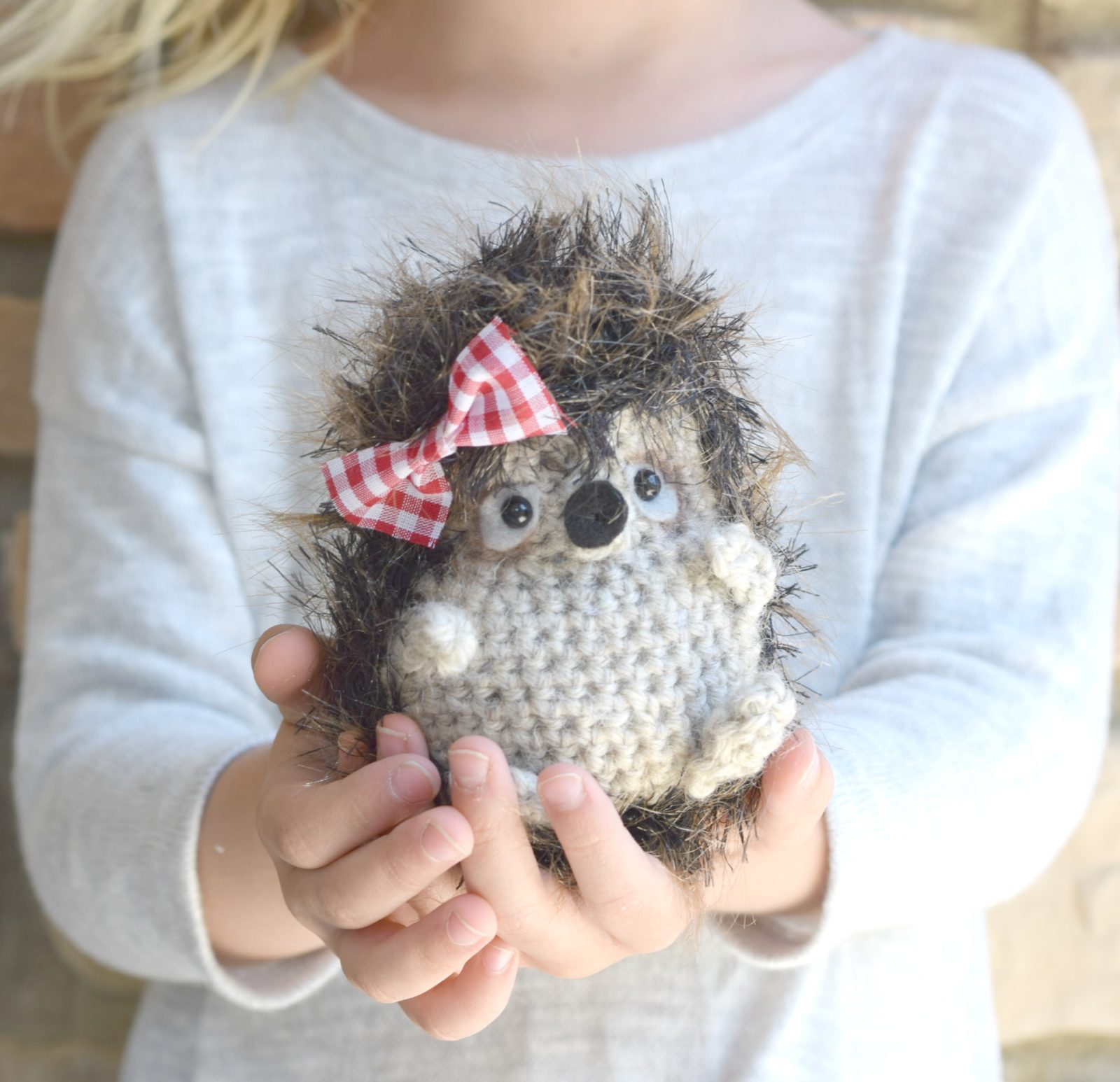 Woodland Hedgehog Amigurumi Crochet Pattern – Mama In A Stitch