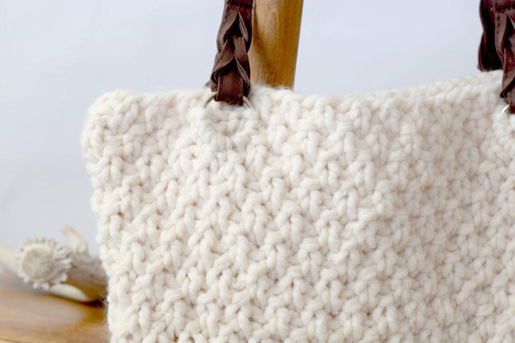 Aspen Free Knitting Pattern Easy Purse