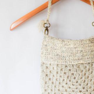 Boho Granny Square Crochet Bag Pattern 3