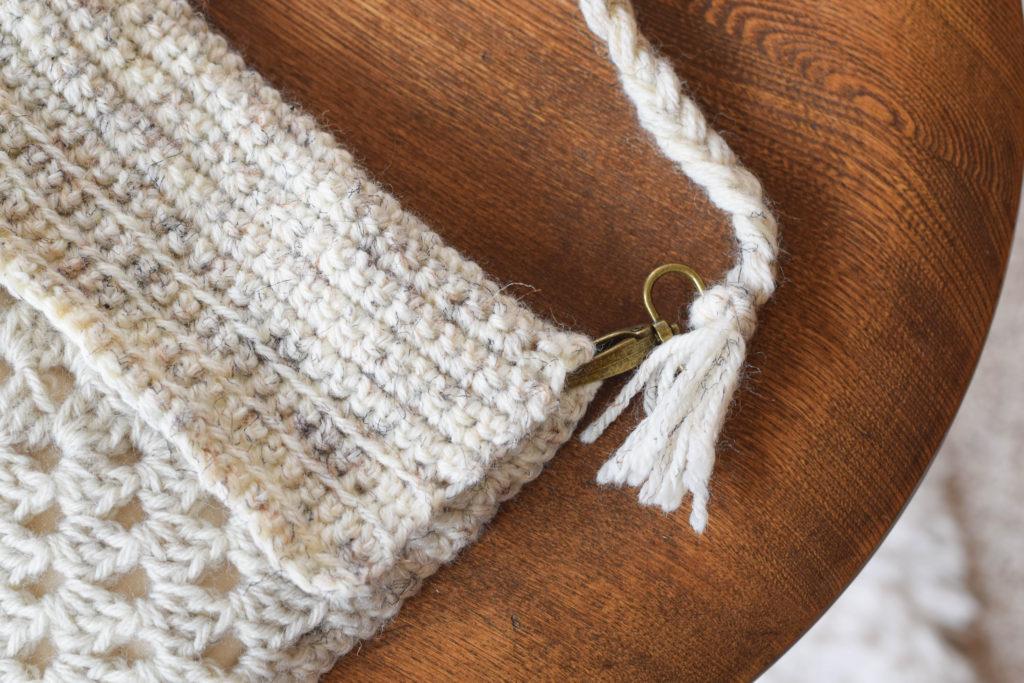 Boho Granny Square Crochet Bag Pattern 7