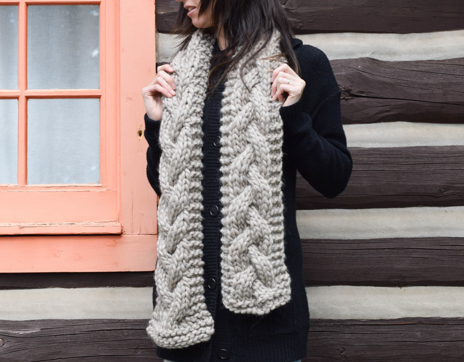The Cascades Knit Scarf Mama In A Stitch
